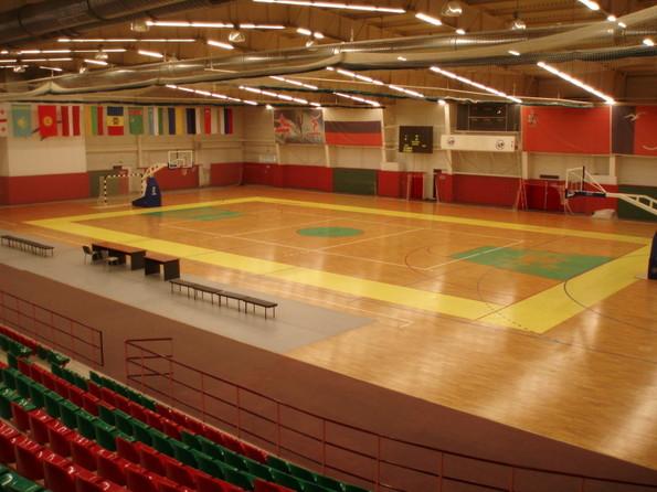 Спортивный зал для занятий эстетической гимнастикой
